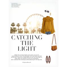 CATCHING THE LIGHT by paint-it-black featuring Chloé, rag & bone, Tabitha Simmons, See by Chloé, Oscar de la Renta, Alice + Olivia, coachella, den...