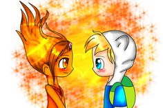 - Lil' Ark gonna remake this - finn and flame princess