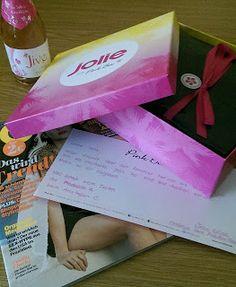 Feyaria´s schwarz bunte Welt: Jolie for Pink Box Juli 2015