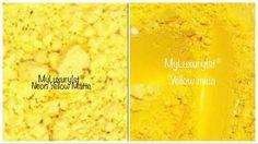NEON Yellow Pigment Matte Powder Combo Mica MP CP Soap Making Eye Shadow Lip Glo | eBay