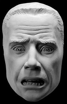 Expression of Fear Sculpting Reference Cast