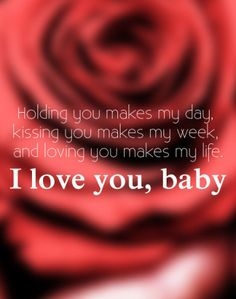 Love Quote 6 - Love You Quotes for Him. 6 Love You Quotes for Him (Valentines… Valentines Day Sayings, Love You Quotes For Him, Love Yourself Quotes, Christmas Love Quotes For Him, Just Love, Just For You, For My Love, I Love You Baby, Love Of My Life