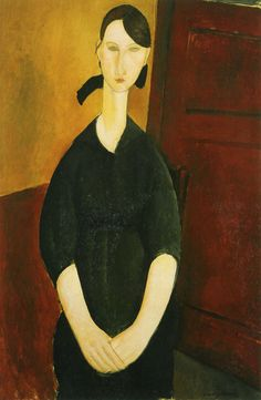 Image: Amedeo Modigliani, Portrait de Paulette Jourdain Circa from the Alfred Taubman art collection to be sold by Sotheby's Amedeo Modigliani, Gustav Klimt, Italian Painters, Art Database, Art Moderne, First Art, Toulouse, Pablo Picasso, Painting For Kids