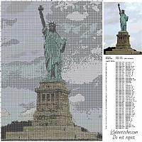The Statue of Liberty free cross stitch pattern download