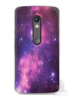Capa Capinha Moto X Play Galáxia - SmartCases - Acessórios para celulares e tablets :)