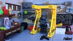 Home sweet post-apocalyptic home: Fallout 4's Red Rocket truck stop | The Brothers Brick | LEGO Blog