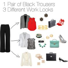 """""""Work Outfits"""" by snd1990 on Polyvore"""