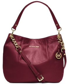 Michael Kors Bedford Large Shoulder Bag Cinnabar
