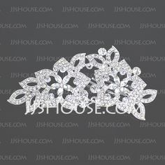 Headpieces - $25.99 - Lovely Clear Crystals Wedding Bridal Tiara (042004258) http://jjshouse.com/Lovely-Clear-Crystals-Wedding-Bridal-Tiara-(042004258)-g4258