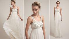 Beautiful wedding gown by Saja