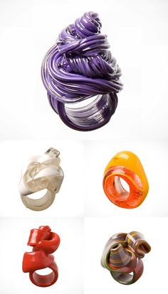 TheCarrotbox.com modern jewellery blog : obsessed with rings // feed your fingers!: Gaetano Pesce / Kristýna Malovaná