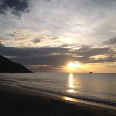Atardecer Playa zaragoza Isla de Margarita Venezuela