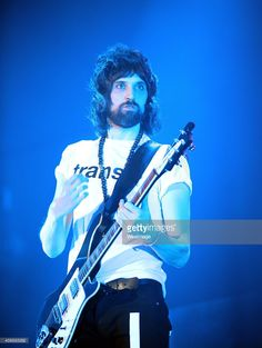Serge Pizzorno of Kasabian performs at BIC on November 25 2014 in Bournemouth England