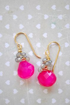 Sparkling Pomegranate Punch by LFJewelryDesigns on Etsy, $27.00