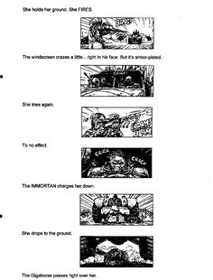 Post with 13 votes and 3725 views. Shared by Mad Max Fury Road - Original Script / Storyboard excerpts Mad Max Fury Road, Storyboard, Script, Comic, Concept, Album, The Originals, Script Typeface, Comic Strips