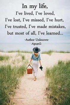 I've learned!