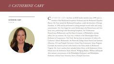 CATHERINE CARY