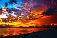 Dramatic sky...