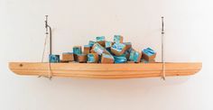 OUTSIDE IN BOAT SCULPTURE by JUSTIN  GAFFREY