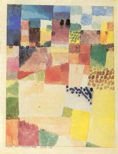 "Paul Klee ""Motivo ad Hammamet"""