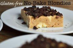 Gluten-free No-Bake Blondies