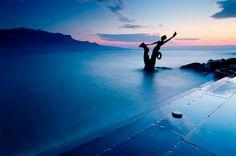 A Naiad in the Mist, Vevey on Lake Geneva (Lake Léman), Switzerland image credit:  Samuel Gachet