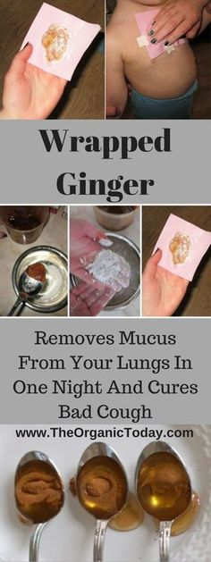 Wrapped Ginger – Removes Mucus From Your Lungs In One Night And Cures Bad Cough