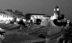 Terrasse la nuit