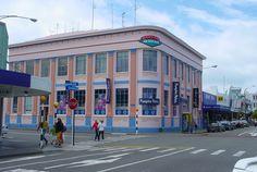 Art Deco buildings. Napier, New Zealand, 2005