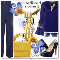 Make a Statement: Embellished Sleeves