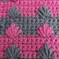 Puffy Spike: #crochet Stitch Tutorial
