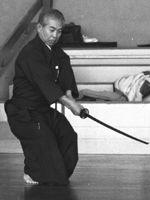 Matsuoka sensei (Hikimi) Foto: J. van Nispen