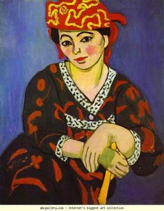 Henri Matisse. Madame Matisse: Madras Rouge. Olga's Gallery. Henri Matisse. Madame Matisse: Madras Rouge. 1907. Oil on canvas. Barnes Foundation, Lincoln University, Merion, PA, USA