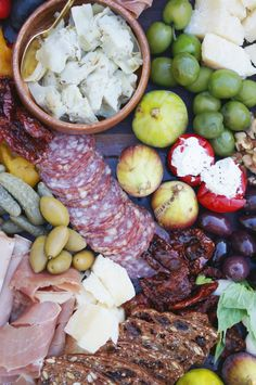Barefoot contessa meat and cheese platter google search Ina garten appetizer platter