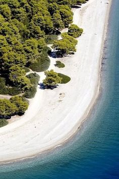Rovies beach, Evia Island, Greece