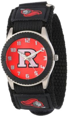 """Game Time Unisex COL-ROB-RUT """"Rookie Black"""" Watch - Rutgers"""