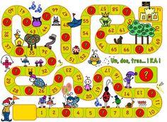 Puzzle Board Games, Preschool Board Games, Spelling Activities, Activity Games, Math Games, Preschool Activities, Board Game Template, Printable Board Games, File Folder Activities