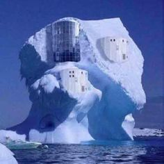 unusual homes pictures - Bing Images Unusual Buildings, Interesting Buildings, Amazing Buildings, Crazy Houses, Ice Houses, Weird Houses, Dream Houses, Photo Chateau, Architecture Unique