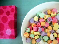 This blogger always has the cutest party ideas...V-day party.