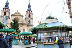 Ludwigsburg - Town Hall & Hot Drinks