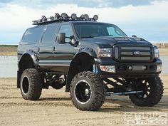 Diesel Truck News Ford Excursion Lifted Ford Trucks, Jeep Truck, 4x4 Trucks, Cool Trucks, Small Trucks, Ford Diesel, Diesel Trucks, Ford Excursion Diesel, Lifted Excursion