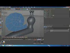 Моделирование мультяшной улитки в CInema 4D для начинающих)