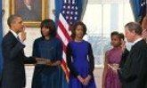 Inauguration 2013: President Obama Official Oath of Office