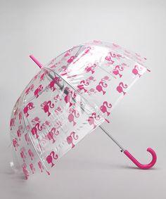 Hot Pink Barbie Umbrella by Barbie #zulily #zulilyfinds