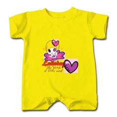 The Witch Of Little Wood Yellow Cute T-romper For Baby High Quality-Funny Clothing SAVE up to 80% off,Create custom T-shirts at a fantastic price, no minimum quantity. 100% Satisfaction Guaranteed.