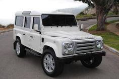 defender 110, custom | 1985 Land Rover Defender 110 Custom | M Car Company