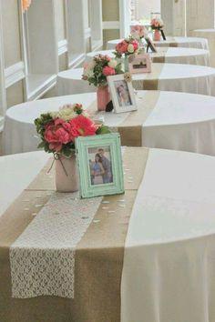 Mesas simples e lindas!