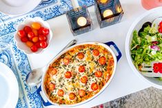 Meat gratin with mozzarella and fresh oregano - - Recipes, inspiration and the good of life Lchf, Keto, Mozzarella, Vegetable Pizza, Food Inspiration, Food And Drink, Low Carb, Snacks, Fresh