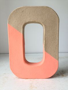 Decorative Painted Letters by BrakeForBees on Etsy,