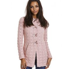 canal long cardigan MILKY PINK